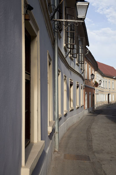 Picture of One of the pretty streets of PtujPtuj - Slovenia