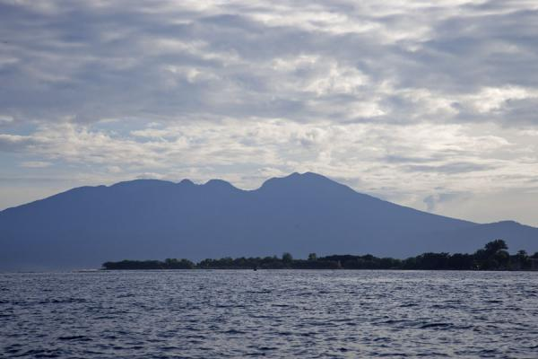 Picture of Kolombangara climb (Solomon Islands): Kolombangara, or the Sleeping Lady, seen without clouds from Gizo