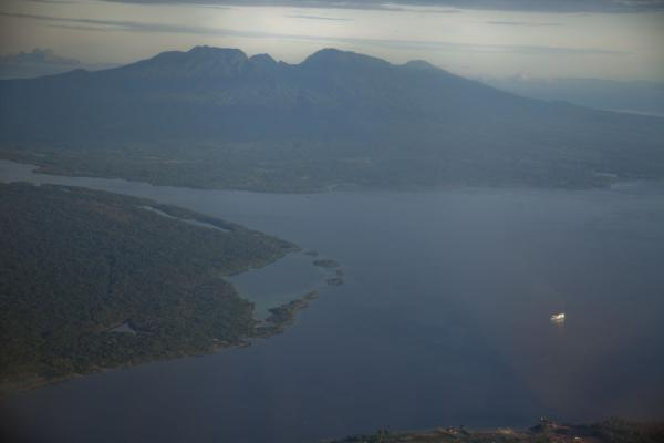 Picture of Kolombangara climb (Solomon Islands): Rare view of Mount Kolombangara without any clouds from the sky