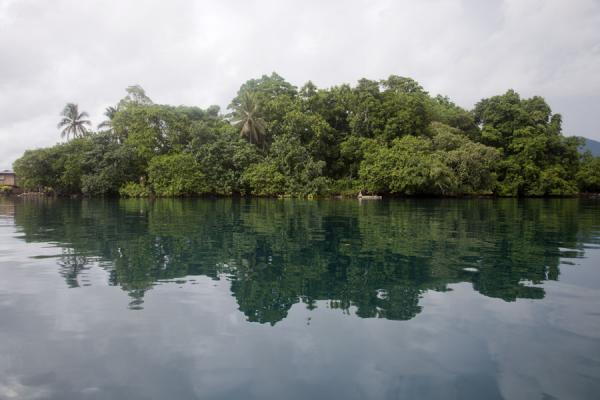 Picture of Taboo spot at the lagoon of Langa LangaTalakali - Solomon Islands