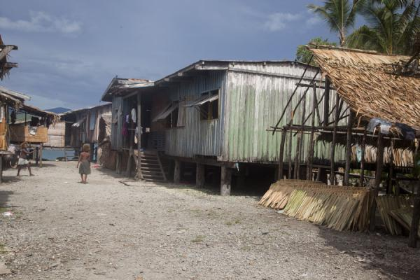 Picture of Street in one of the villages surrounding Langa Langa lagoonTalakali - Solomon Islands