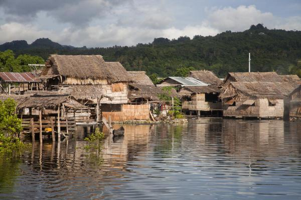 Eastern part of the village of Lilisiana | Lilisiana | Solomon Islands
