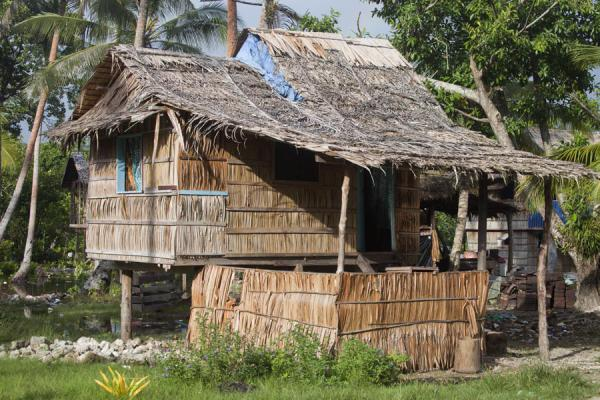 Picture of One of the houses of LilisianaLilisiana - Solomon Islands
