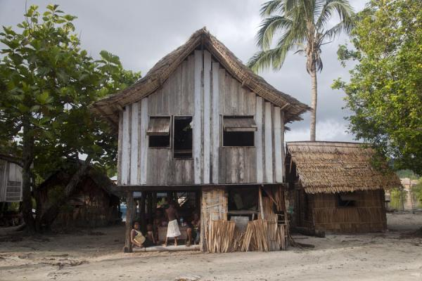 One of the houses of Lilisiana | Lilisiana | Solomon Islands