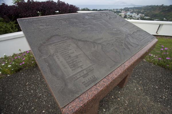 Map of Guadalcanal, explaining which battles took place where | US War Memorial | Islas Salomón
