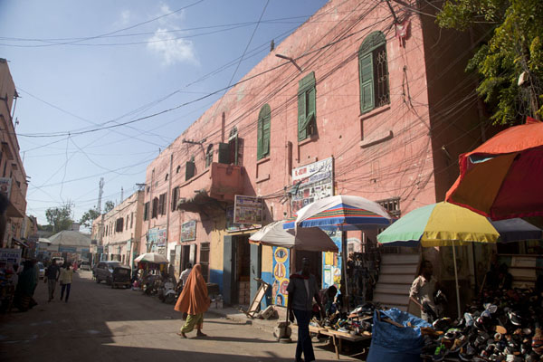 Picture of Mogadishu old city