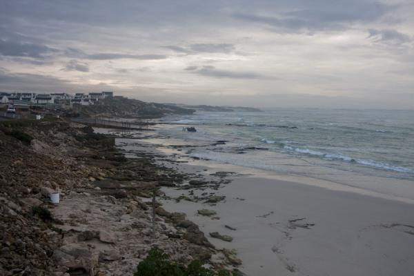 Picture of Looking north at the coastline of Arniston