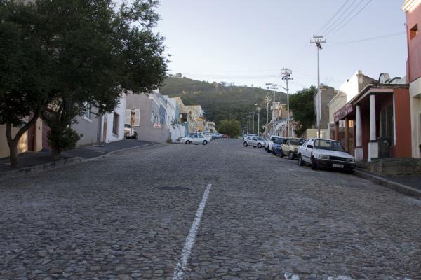 Cobble stone street in Bo-Kaap | Bo-Kaap | South Africa