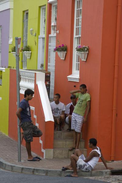 Guys in Bo-Kaap neighbourhood | Bo-Kaap | South Africa