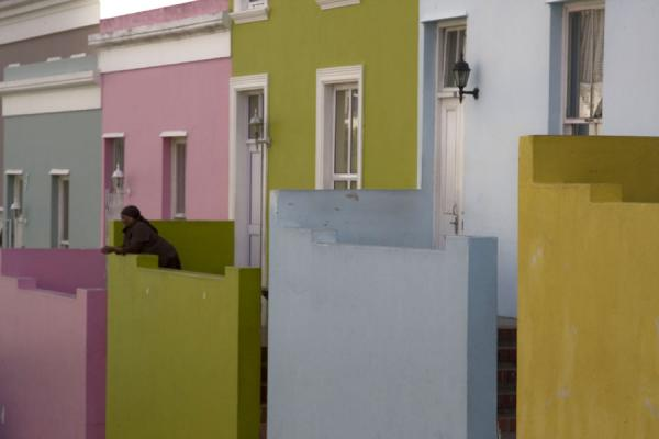 Pastel coloured houses in Bo-Kaap | Bo-Kaap | South Africa
