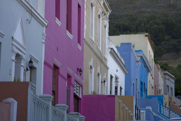 Row of colourful houses in Bo-Kaap | Bo-Kaap | South Africa