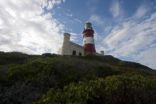 Picture of Cape Agulhas (South Africa): Lighthouse guiding ships around Cape Agulhas