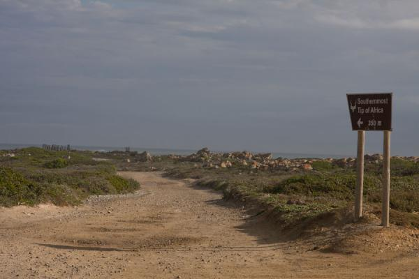 Last stretch of the road leading to the southernmost spot of Africa | Cape Agulhas | South Africa