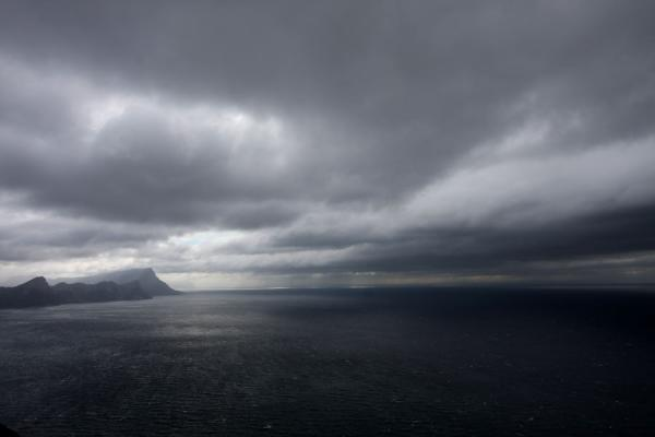 Dark clouds gathering over False Bay | Cape Point | Zuid Afrika