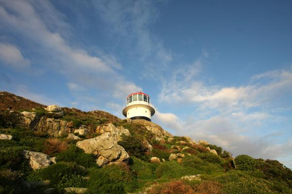 Old lighthouse on top of Cape Point | Cape Point | Zuid Afrika