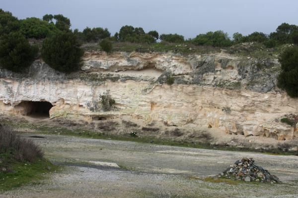 Picture of Robben Island (South Africa): Forced labour was done in this lime stone quarry