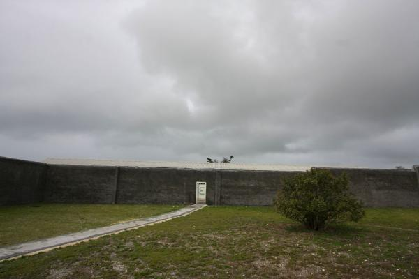 Picture of Robben Island (South Africa): Robben Island prison complex seen from the inside