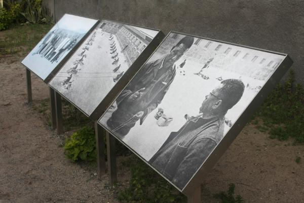 Picture of Robben Island (South Africa): Pictures inside a courtyard of Robben Island prison