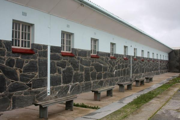 Exterior of the prison block where Mandela lived | Robben Island | South Africa