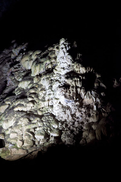 Close-up of formation inside the caves | Sterkfontein Caves | South Africa