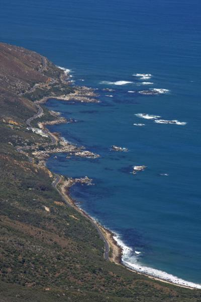 View over Victoria Road from Table Mountain | Table Mountain | South Africa