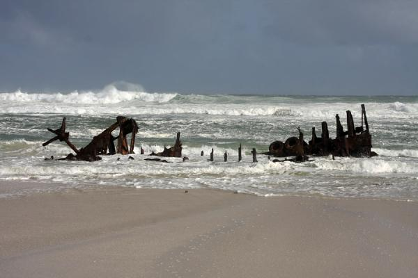 Shipwreck of the Nolloth, that ran aground in 1965 | Thomas T. Tucker trail | South Africa