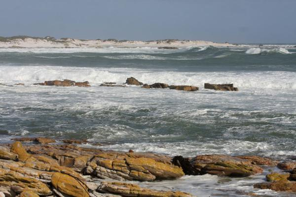 Rough sea at the beginning of the Thomas T. Tucker trail | Thomas T. Tucker trail | South Africa