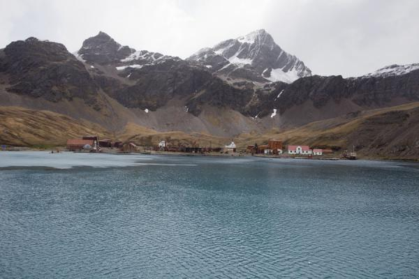 Picture of Grytviken, the capital of South Georgia, is but a small settlement with historic significance