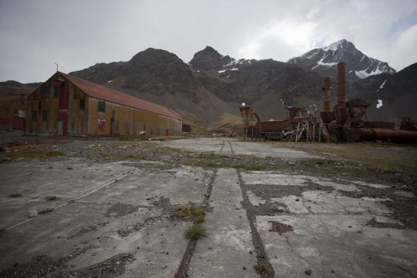 Part of the old whaling station of Grytviken | Grytviken | South Georgia and South Sandwich Islands