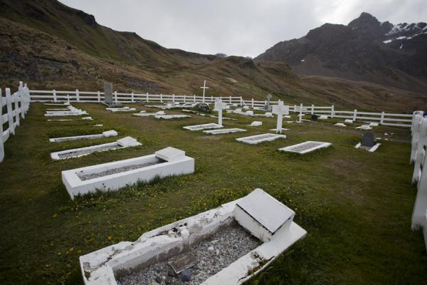 Cemetery at Grytviken where Ernest Shackleton and Frank Wild are buried | Grytviken | Géorgie du Sud-et-les îles Sandwich du Sud