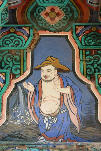 Picture of Bulguksa (South Korea): Fragment of decoration of a temple