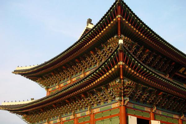 Geunjeongjeon building, where ceremonies were held | Gyeongbokgung Palace | South Korea