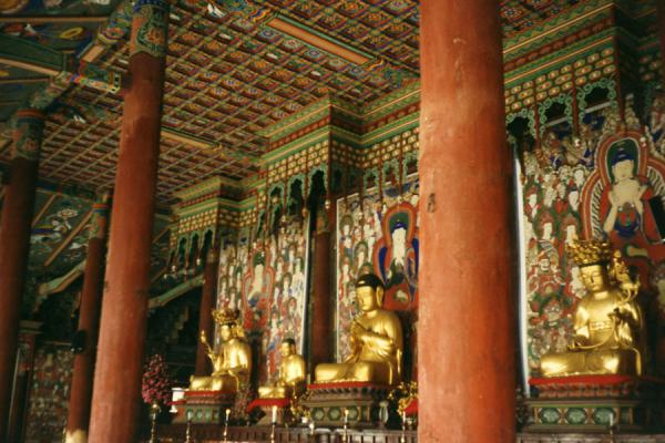 Picture of Haeinsa Temple (South Korea): Looking inside Haeinsa temple