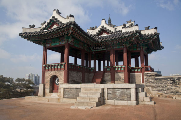 Picture of Hwaseong fortress (South Korea): Dongbukporu Northeastern sentry post
