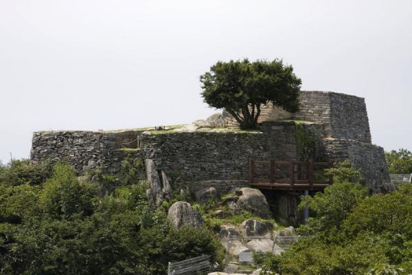 Picture of Manisan mountain (South Korea): Ancient Chamseongdan altar on top of Manisan