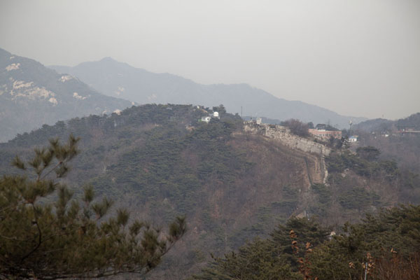 Gokjang seen from the west | Mount Bugaksan City Wall | South Korea