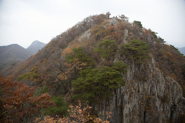 View of Kkachobong Peak (717m) | Naejangsan Mountain | Corea del Sud