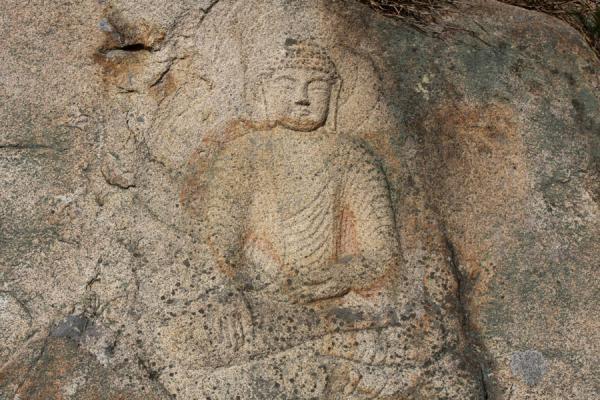 Picture of Namsan (South Korea): Yeorae image at Yongjangsa