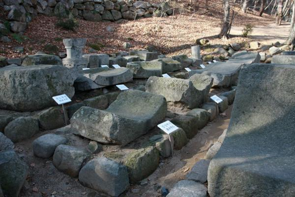 Picture of Seokguram Grotto (South Korea): Stone finds near Seokguram Grotto
