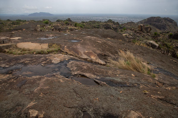 Picture of View from the top of Jebel KujulJuba - South Sudan