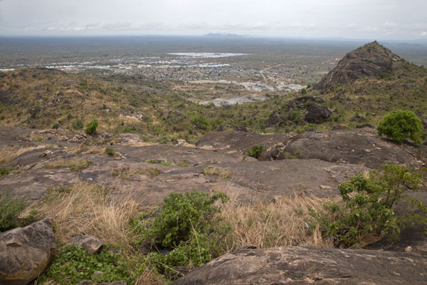 View from the top of the mountain | Jebel Kujul | South Sudan