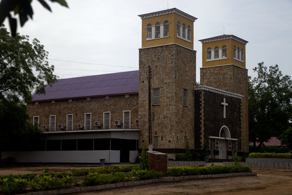 Side view of the Anglican Cathedral | Juba Snapshots | South Sudan