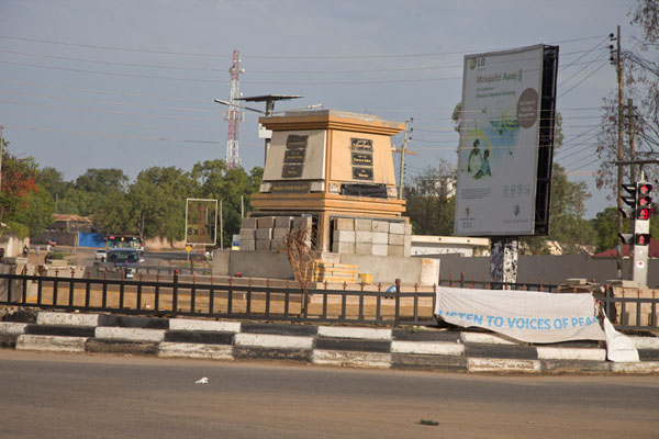 Picture of Juba Snapshots (South Sudan): Nile explorers from the 19th century are commemorated on this monument on a roundabout in Juba