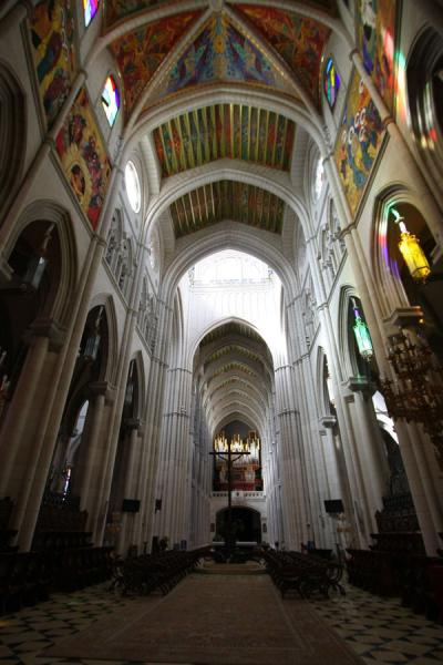 Picture of Almudena Cathedral (Spain): Interior of the Almudena Cathedral