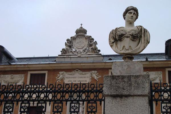 Picture of Aranjuez: detail of Real Casa del Labrador