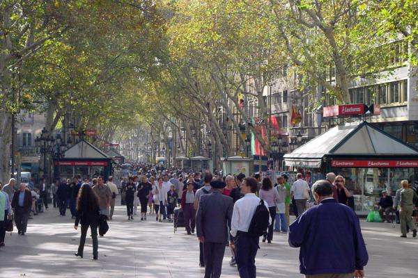 Walking down the Rambla | Rambla | Spain