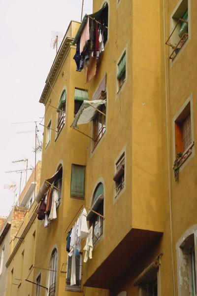 Drying clothes | Barceloneta | Spain