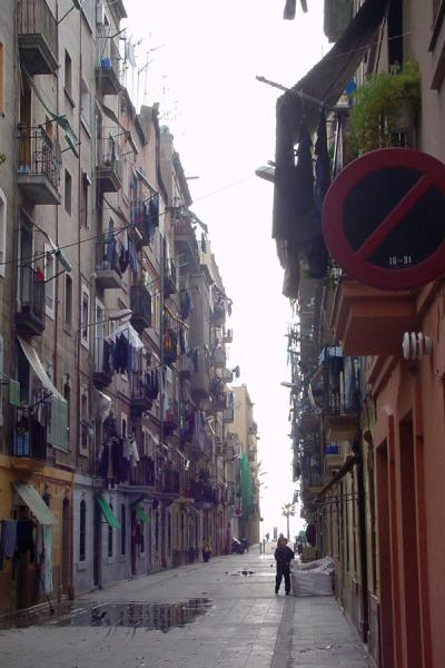 Picture of Street in Barceloneta - Barcelona