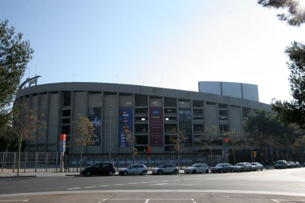 Camp Nou stadium seen from outside | Camp Nou stadium | Spain