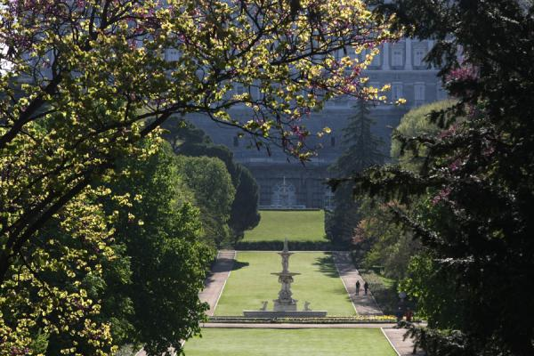 Picture of Campo del Moro (Spain): The main lane of Campo del Moro leading up to the Royal Palace